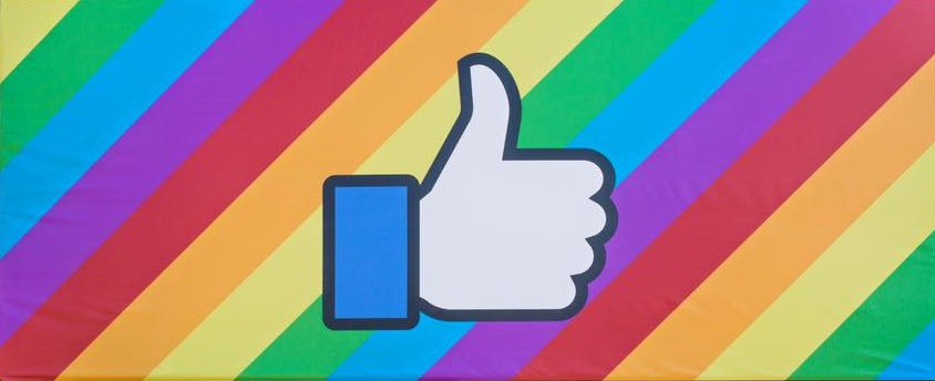 Latest Rainbow Effect Filter For Facebook Profile Pic @ Just 1 Click