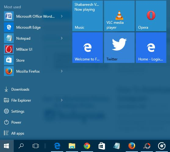How To Pin Your Favorite Websites on Windows 10 Start Menu