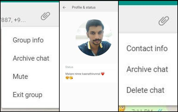 WhatsApp Web – A New Makeover Lets You Change Profile Pic & More