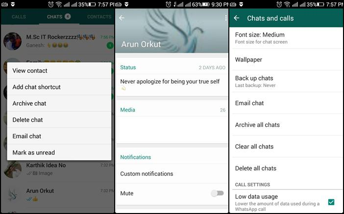 Whatsapp New Updates Brings Mark as Unread & More New Features
