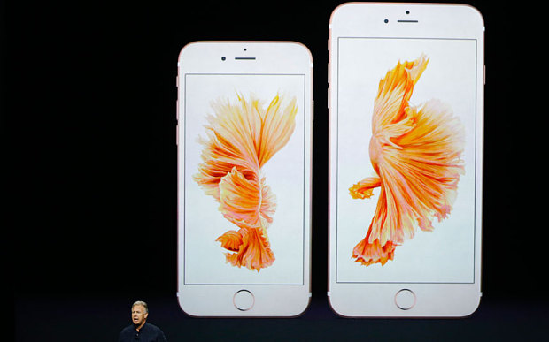 Apple Unveils iPhone 6S & iPhone 6S Plus with 3D Touch Technology