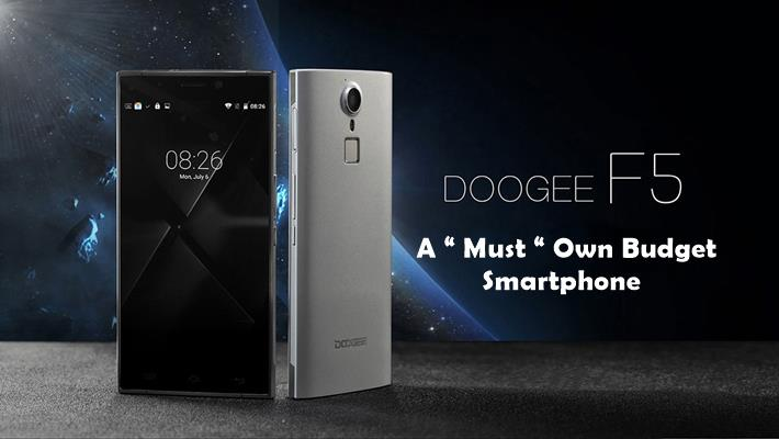 DOOGEE F5 4G Phablet A Must Own Budget Smartphone