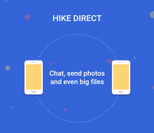 Hike Launches File Sharing With Friends Without Internet