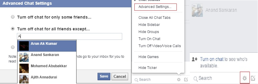 How To Appear Online Only For Selected Friends on Facebook