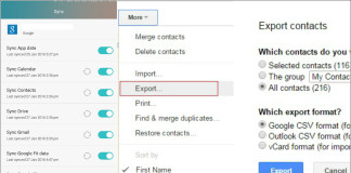 How to Back Up Your Contacts from Android to PC
