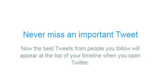How to Turn On Best Tweets in Twitter