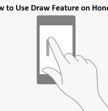 How to Use Draw Feature on Honor 4X