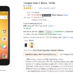 Coolpad Note 3 Gets Price Cut