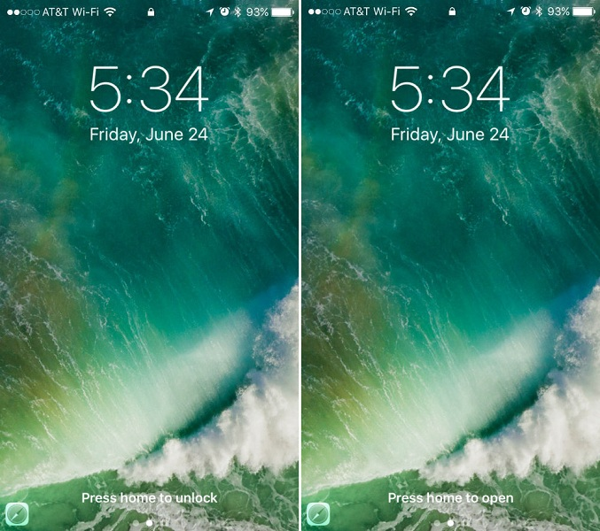 How to Reset iOS 10 Lock Screen to iOS 9 Gesture