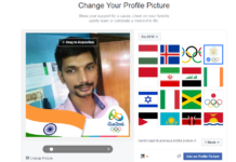 Customize Your FB Profile Picture to Support Your Country on Rio Olympic 2016
