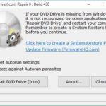 DVD Drive Icon Repair