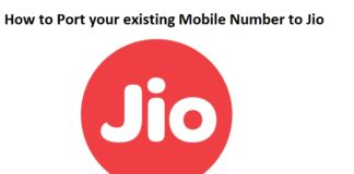 How to Port your existing Mobile Number to Jio