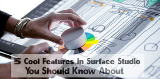 5 Cool Features in Surface Studio You Should Know About