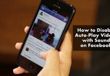 How to Disable Auto-Play Videos with Sound on Facebook