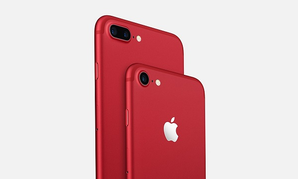 Apple Launched Special Red iPhone 7