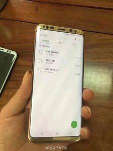 Samsung Galaxy S8 Minimum Bezels Design