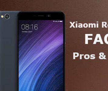Xiaomi Redmi 4A FAQ Pros Cons