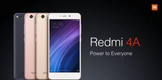Xiaomi Redmi 4A Price, Specification & Availability