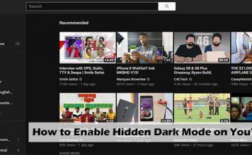 How to Enable Hidden Dark Mode on YouTube