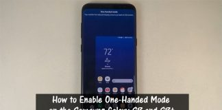 How to Enable One-Handed Mode on the Samsung Galaxy S8 and S8Plus