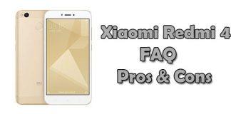 Xiaomi Redmi 4 FAQ, Pros & Cons