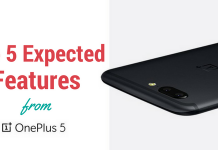 Top 5 Expected Features from OnePlus 5