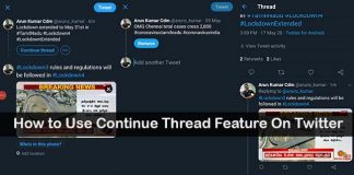 How to Create Continue Thread Feature On Twitter