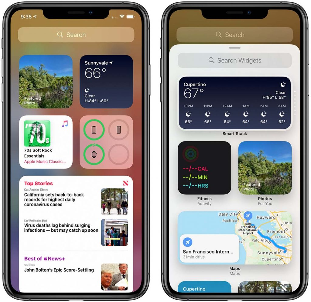 ios14 widgets gallery